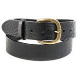 232BK Men's Justin Black Work Belt