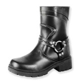 MVB239 Women's Milwaukee Leather Daredevil Motorcycle Boot