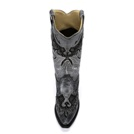 A2621 Women's Corral Metallic Eagle Snip Toe Cowboy Boot
