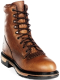 2722 Men's Rocky Ride Lacer Round Toe Western Work Boots