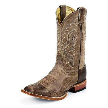 MD2731 Men's Nocona Tan Vintage Cow Square Toe Cowboy Boot