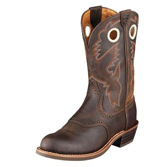 10001594 Women's Ariat Heritage Roughstock U Toe Work Boot