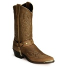 3012 Men's Sage Brown Harness Cowhide Cowboy Boot