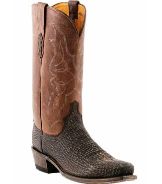 M3105.74 Men's Lucchese Chocolate Sanded Shark Cowboy Boot