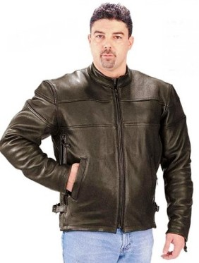 0316.00 Men's Ultra Touring Series Leather Motorcycle Jacket