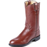 3404 Men's Justin Tan Kiddie Roper Cowboy Boot