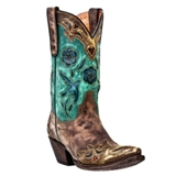 DP3544 Women's Dan Post Vintage Bluebird Snip Toe Cowboy Boot