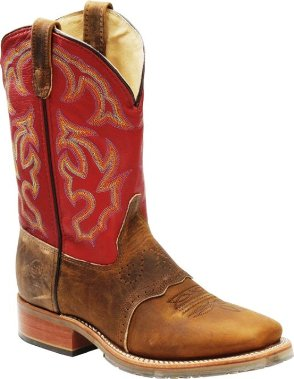 "DH3556 Men's Double-H 11"" Square Toe ICE Roper Cowboy Boot"