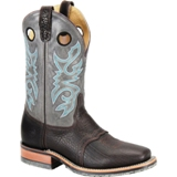 "DH3575 Men's Double H 11"" Domestic Square Toe Roper Cowboy Boot"