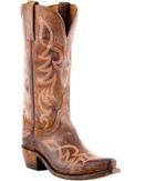 NV4008S54 Women's Lucchese Chocolate Sophia Snip Toe Cowboy Boot
