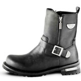 MB407 Men's Milwaukee Leather Afterburner Motorcycle Boot