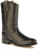 CRY4110G Children's Old West Black Leather Roper