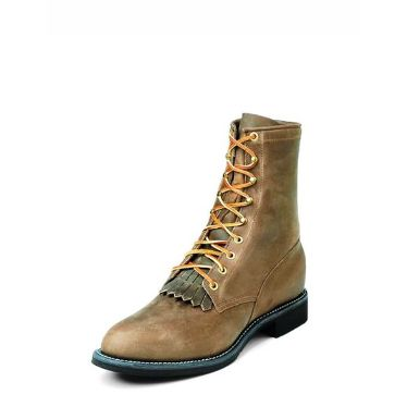 0414 Men's Justin Bay Apache Lacer Boot