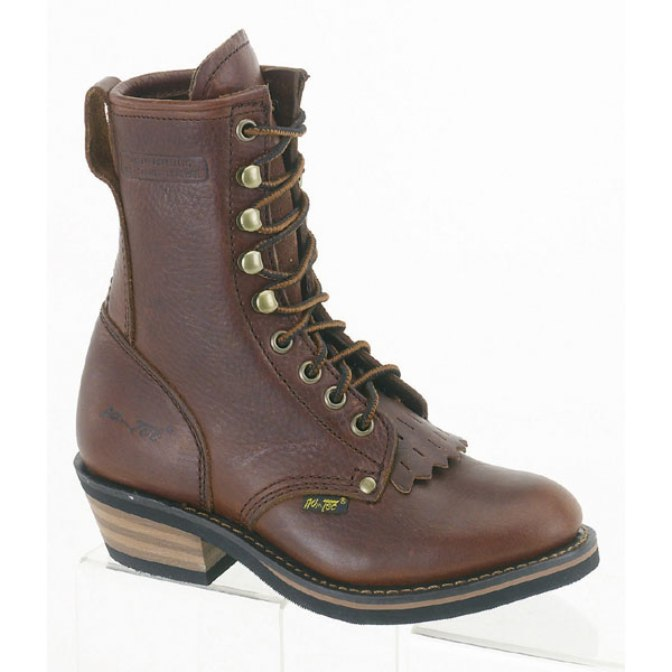 4173 Children's Ad Tec Brown Packer Work Boot