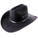 423-2 Black Yuma Cowboy Hat by Bailey