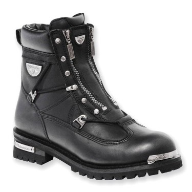 MB440 Men's Milwaukee Leather Throttle Motorcycle Boots
