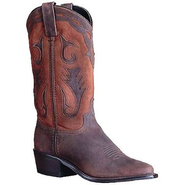 "4540 Women's Sage 11"" Brown Distressed Foot with Nubuck Accents"