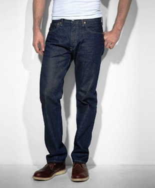 00501-000 Men's Levi 501 Original Fit Jeans- Maldives