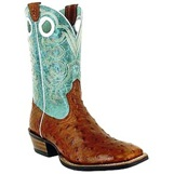 10005022 Men's Ariat Crossfire Big Sky Full-Quill Ostrich Boot