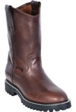 5515407 Men's Los Altos Brown Grasso Leather Work Boots