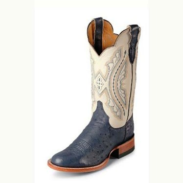 L5525 Women's Justin Smooth Ostrich Cowboy Boot