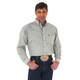 MGS56TM Men's Wrangler George Strait Poplin Long Sleeve Shirt
