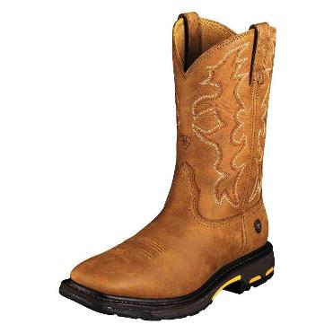 10005887 Men's Ariat Workhog Square Toe (Tall) Work Boot