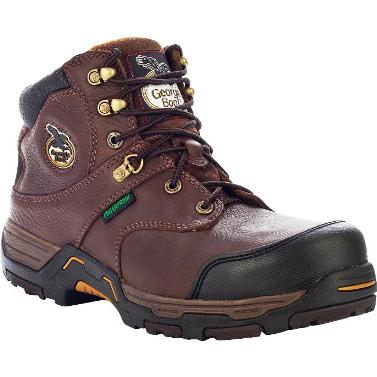 G6593 Men's Georgia Diamond Trax Waterproof Work Shoe
