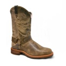 6760 Men's Abilene Distressed Brown Harness Roper Cowboy Boot