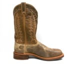 6762 Men's Abilene Distressed Brown Square Toe Roper Cowboy Boot