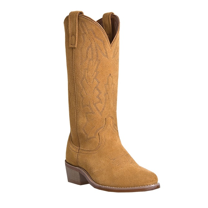 68216 Men's Laredo Jacksonville Natural Suede Cowboy Boot