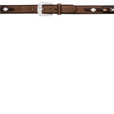 "6822 Men's 3D 1 1/2"" Brown Men's Western Fashion Belt"