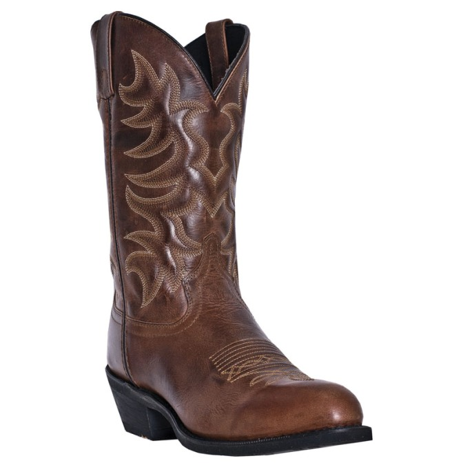 68384 Men's Laredo Brown Pinehurst Cowboy Boot