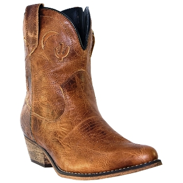 DI692 Women's Dingo Adobe Rose Cowboy Boot