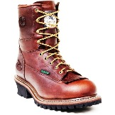 G7313 Men's Georgia Steel Toe Waterproof Logger Work Boot
