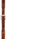 "7801 Men's 3D 1 3/4"" Tan Western Fashion Belt"