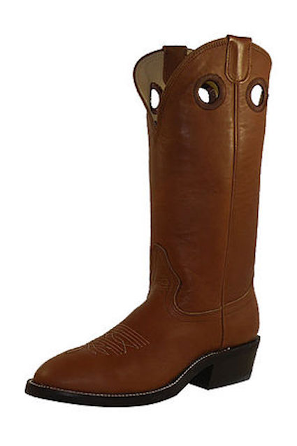 7875 Men's Hondo Natural Hand Made Cowboy Boot