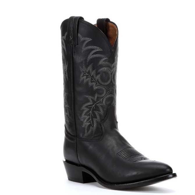 7900 Men's Tony Lama Black Stallion Cowboy Boot