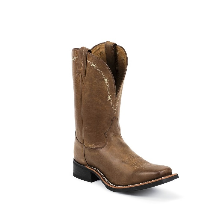 7916 Men's Tony Lama Cheyenne Square Toe Cowboy Boot