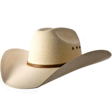 Atwood Hereford Low Crown 7X Palm Leaf Cowboy Hat