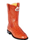 800303 Men's Los Altos Cognac Full Quill Ostrich Roper
