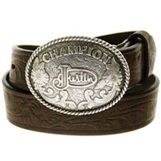 811BR Children's  Justin Boy's Champion Tooled Belt