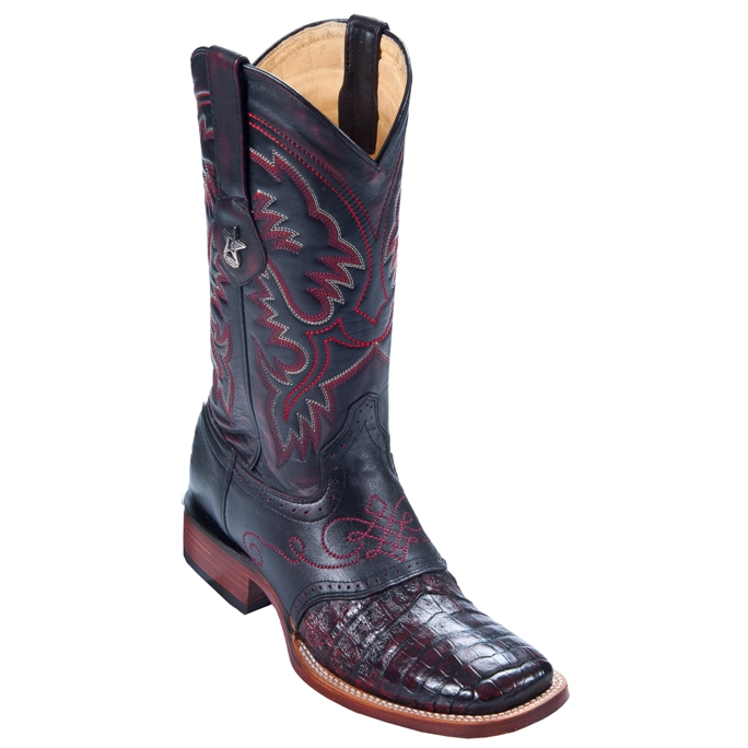 8218218 Men's Los Altos Caiman w/ Saddle Roper Cowboy Boot