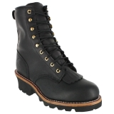 8300 Men's Steel Toe Lace-Up Logger Boot