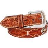 "8323 Men's 3D 1 1/2"" Natural Western Fashion Belt"
