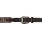 "8514 Men's 3D 1 3/4"" Chocolate Western Fashion Belt"