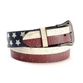 8915 Men's 3D Flag Belt