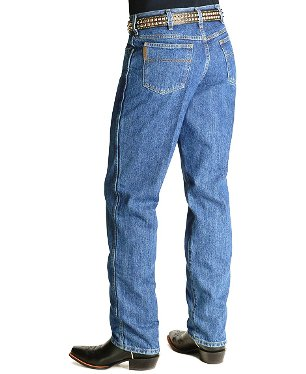 MB90530001 Men's Cinch Green Label Stonewash Blue Relaxed Fit Je