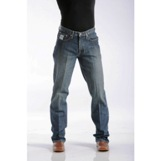 92834013 Men's Cinch White Label Relaxed Fit(Dark Stonewash)Jean