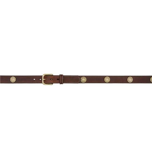 B3107 Kid's Badger Dark Brown Shotgun Shell Belt